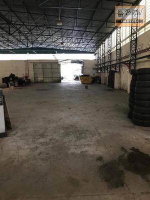 Galpão Comercial Para Locação, Área Industrial, Várzea Paulista. - Ga0005