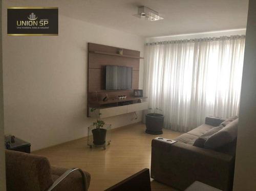 Imagem 1 de 22 de Apartamento Com 2 Dormitórios À Venda, 80 M² Por R$ 848.000,00 - Moema - São Paulo/sp - Ap51300