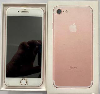 iPhone 7 128gb Rose Gold / Acessórios / Seminovo / Na Caixa