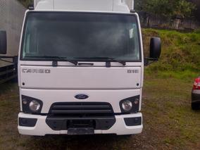 Ford Cargo 816 Ano 2016 Unico Dono Bau Todo Originl
