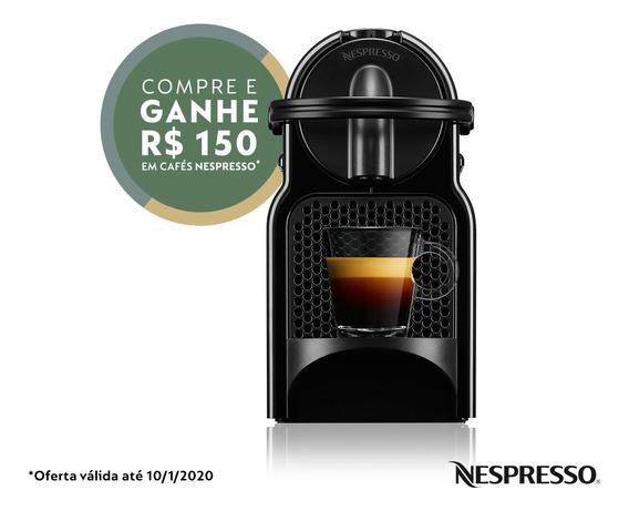 Nespresso Inissia Preta 110v - D40