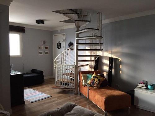 Imagem 1 de 18 de Apartamento Duplex Com 3 Dormitórios À Venda, 98 M² Por R$ 599.000,00 - Aclimação - São Paulo/sp - Ad0023