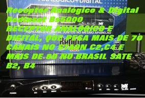 Receptor Analógico E Digital Para Antena Parabólica
