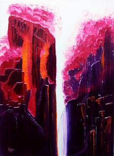 Pinturas: Distorción | Cuadros Decorativos Arte Moderno