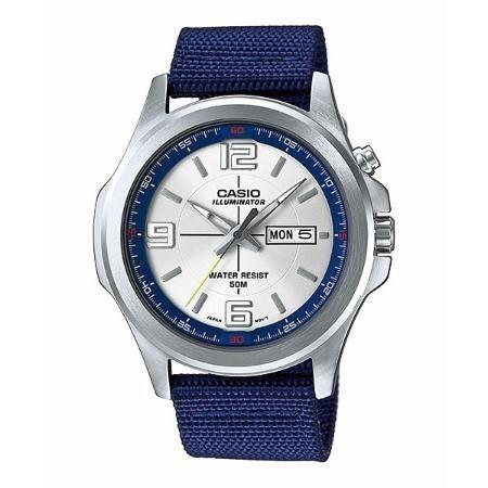 Reloj E202 Caba Mtp Oficial Tela Agente 2a Casio Hombre shoQrtdBCx