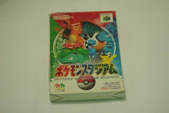 Jogo Pokemon Stadium Jpn Original Para Nintendo 64 N64