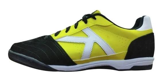 Tênis Futsal Kelme Elite Amarelo/preto - Original