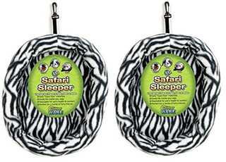 (2 Pack) Ware Manufacturing Fuzzebed Safari Sleepers, Large,