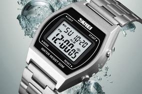 Relógio Skmei Original 1328 Retro - A Prova D´água