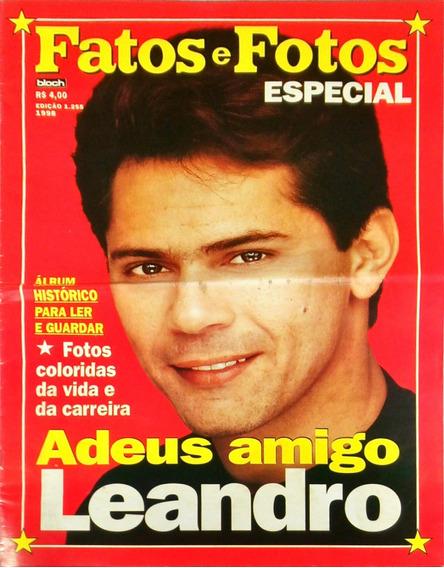 Fatos E Fotos Especial - Adeus Amigo Leandro Album 1998