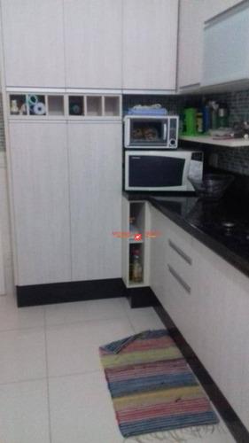 Apartamento Com 3 Dormitórios À Venda, 81 M² Por R$ 285.000,00 - Vila Rio De Janeiro - Guarulhos/sp - Ap0009