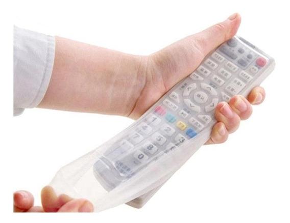 Capa Case De Controle Remoto Tv Silicone Grande 23,5x5,5 Cm