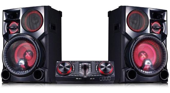 Mini System Lg Cj98 2700w Bluetooth Dual Usb Karaokê