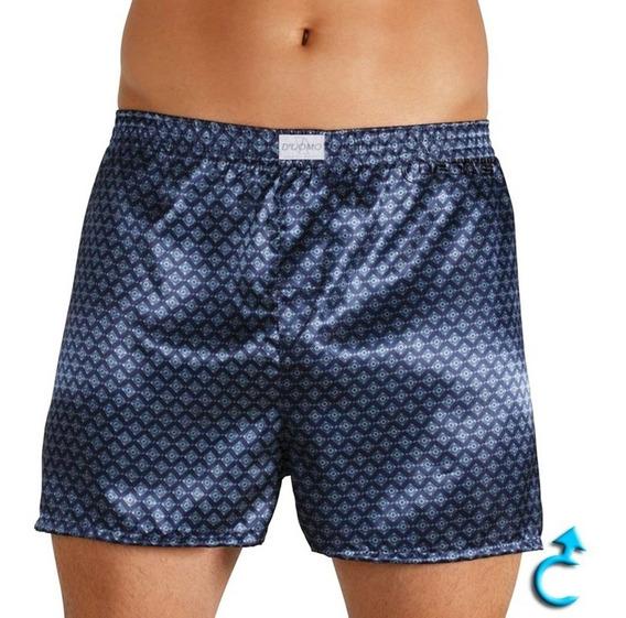 Shorts Cueca Samba Canção Cetim Seda Plus Size Gg/exg/exgg*