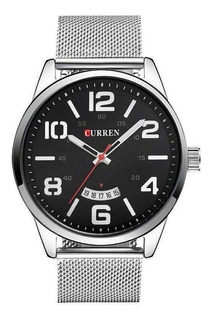 Reloj Hombre Masculino Curren, Elegancia Y Calidad + Estuche