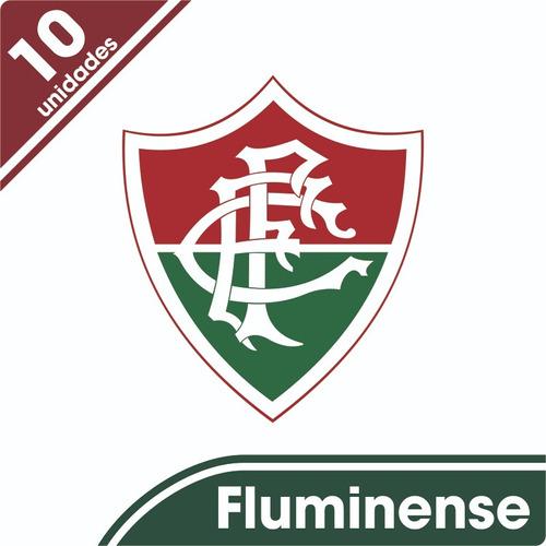 Kit 10 Adesivos Fluminense