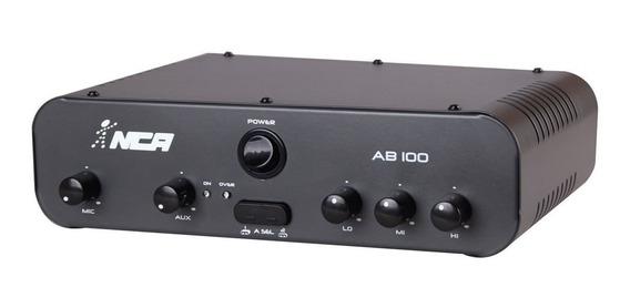 Amplificador Som Ambiente Compacto Nca Sa100 Ab100 100w Rms