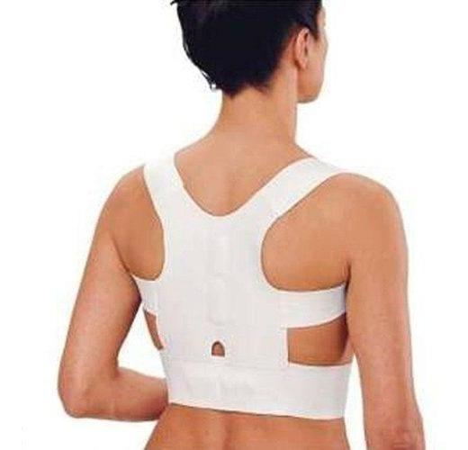 Chaleco Corrector Postura Faja Con Imanes Unisex Espalda