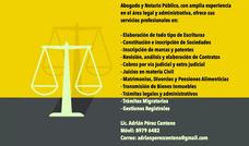 Abogado Y Notario Publico