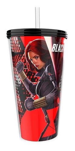 Vaso De Cine Premium Black Widow / Viuda Negra