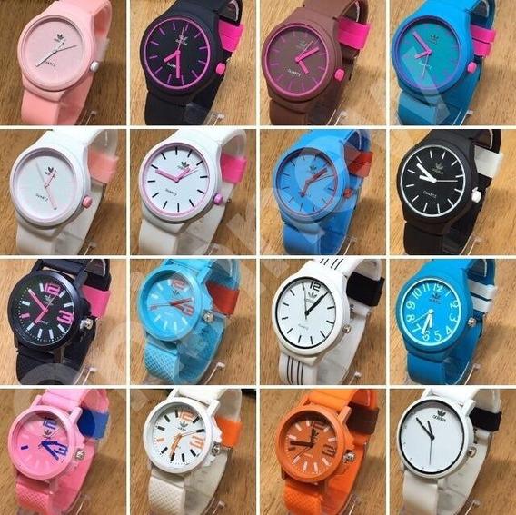 Kit 20 Relógios Silicone Varios Modelos Atacado Barato!!