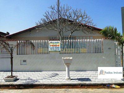 Casa Com 3 Dorms, Jardim Praia Grande, Mongaguá - R$ 425.000,00, 120m² - Codigo: 731800 - V731800