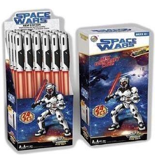 Espadas Space Wars A Pila Con Sonidos.
