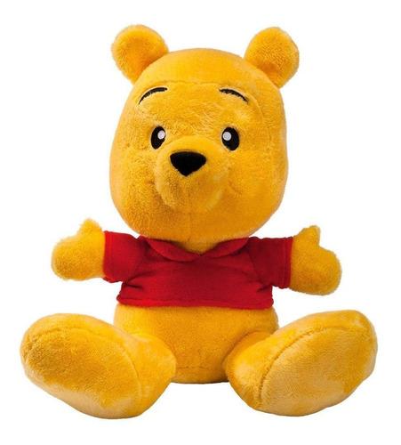Imagem 1 de 3 de Pelúcia Ursinho Pooh Big Feet  - Disney  - Tam 35cm - Fun