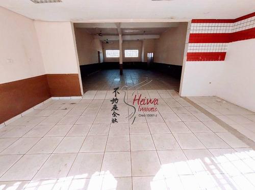 Imagem 1 de 9 de Salão Para Alugar, 200 M² Por R$ 2.500,00/mês - Jardim Marisa - São Paulo/sp - Sl0113