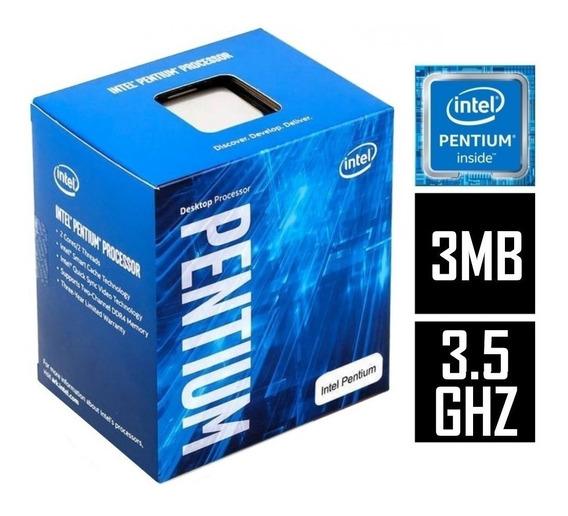 Processador G4560 (lga1151 - 2 Núcleos E 4 Threads - 3,5ghz)
