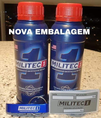 Militec 2 Unidades Frete Grátis Brinde Chaveiro + Etiqueta