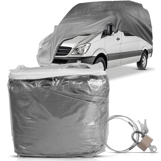 Capa Cobrir Automotiva Com Forro E Cadeado Van Exgg