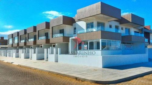 Sobrado Com 2 Dormitórios À Venda, 92 M² Por R$ 340.000 - Morada Das Palmeiras - Torres/rs - So0213