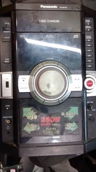 Placa De Fonte De Som Panasonic Sa Akx56 No Mercado Livre