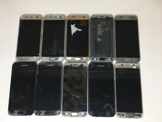Lote 10 Celular Samsung Galaxy S7 - Para Retirada De Peças