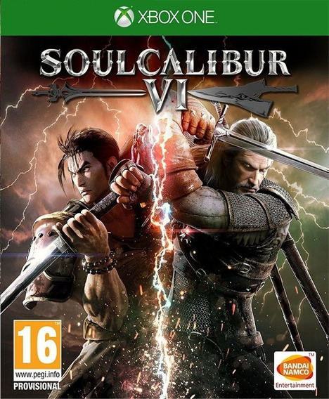 Soulcalibur 6 Xbox One Mídía Física Lacrado Leg. Português