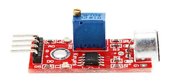 Módulo Sensor De Som Lm393 Para Arduino Pic