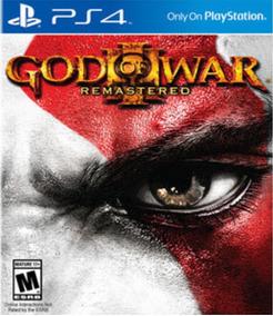 God Of War 3 Ps4 Mídia Física Seminovo