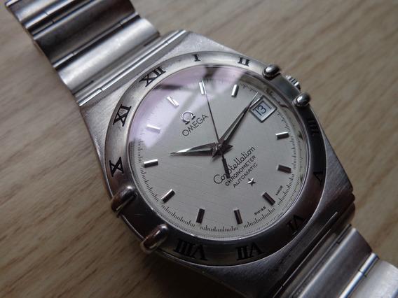 Relógio Omega Constellation Chronometer Automático - Ano 1999 - Original