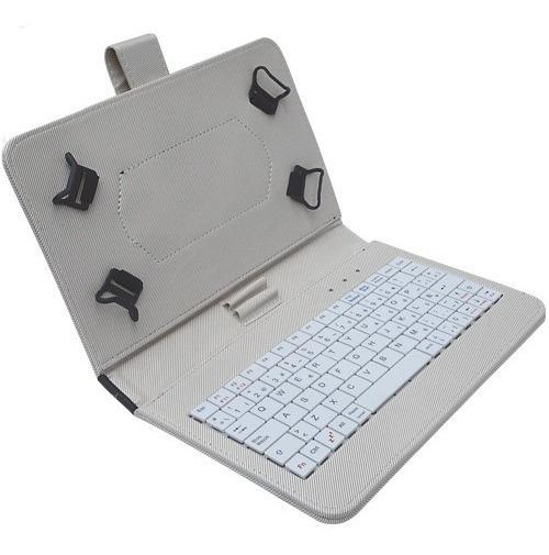 Kit De Funda Tablet 7 Con Teclado Y Lápiz Digital Colores