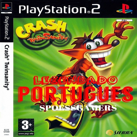 Crash Twinsanity Legendado Português Ps2 Desbloqueado Patch