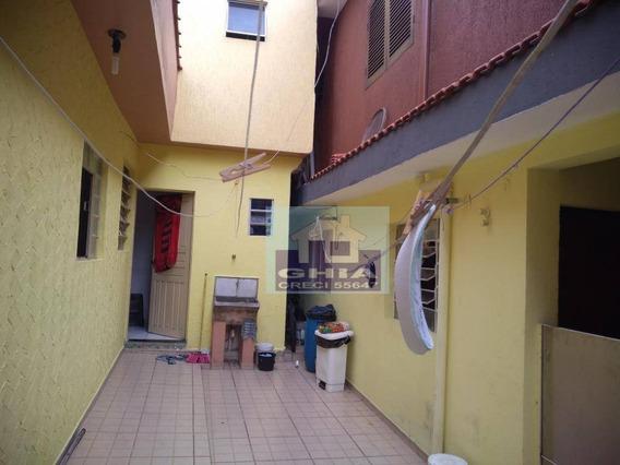Casa Com 1 Dormitório Para Alugar Por R$ 800/mês - Jardim Três Marias - São Paulo/sp - Ca0150
