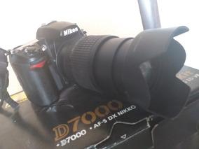 Nikon D 7000 Lente 18 105 3 Flash