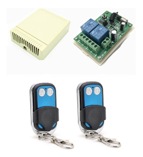 Kit Control Remoto 315mhz Alarma Portón Receptor Universal