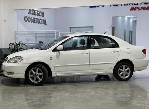 Toyota Corolla Xei 1.8 2004 Financio Hasta El 100%