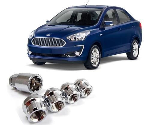 Imagen 1 de 6 de Tuercas De Seguridad 12x1.5 Ford Figo 2020 Anti Robo