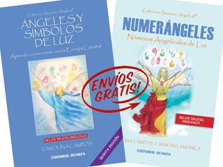 Pack X 2 Libros: Angeles Y Simbolos De Luz Y Numerángeles