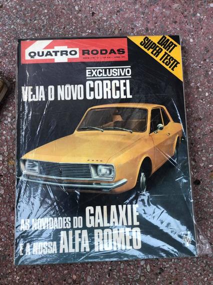 Quatro Rodas 131 Dodge Dart Galaxie Corcel 71 Menor Preço Ml