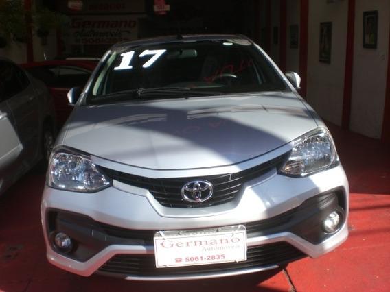 Toyota Etios 1.5 16v Platinum Aut. Prata 2016/2017