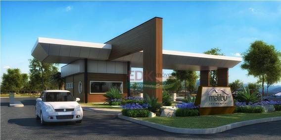 Terreno À Venda Por R$ 120.000 -residencial Malibu - Caçapava/sp - Te0965